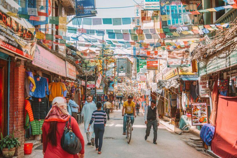Thamel-Nepal