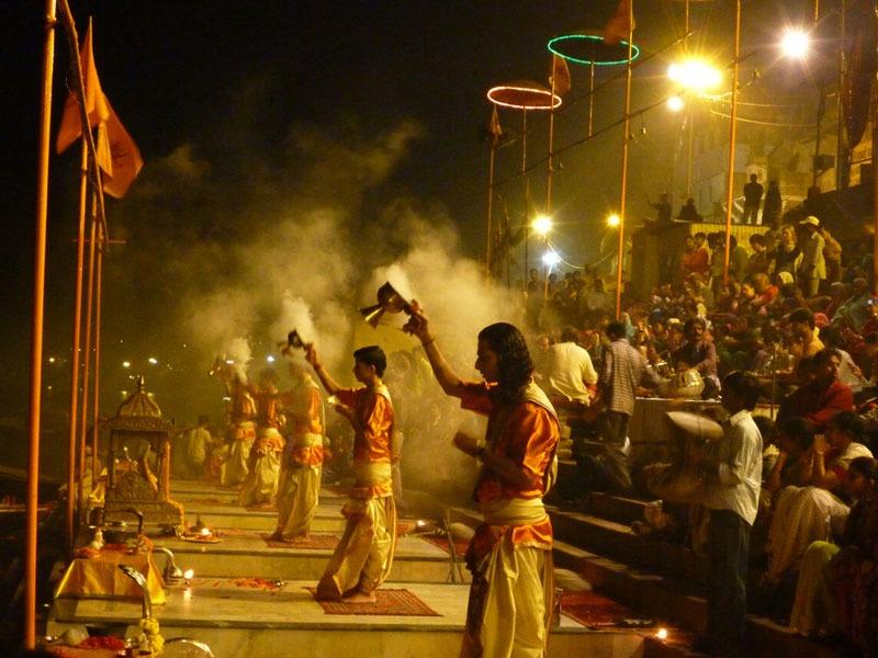 Aarti ceremony