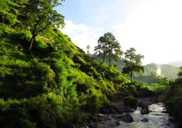Himalaya village, Binsar Valley