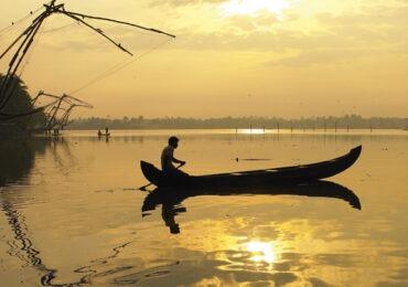 kumbalangi fishing village, Cochin