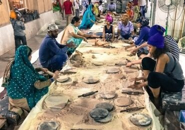 Bangla Sahib community Kitchen