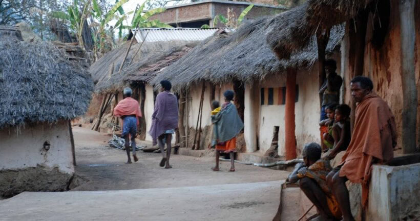 Lamtaput tribal villages, Orissa