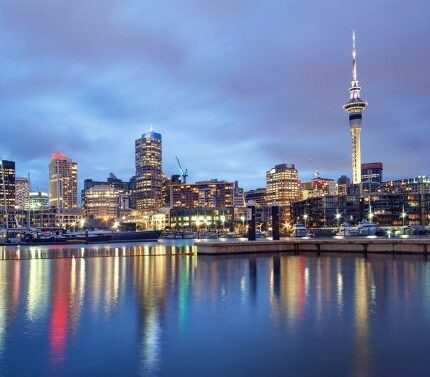 Auckland Sky Tower, New Zealand